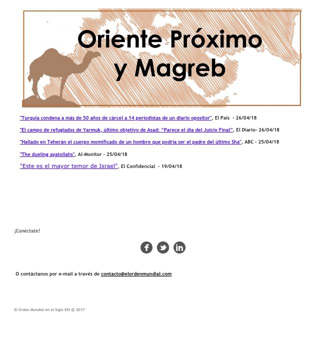 newsletter ejemplos